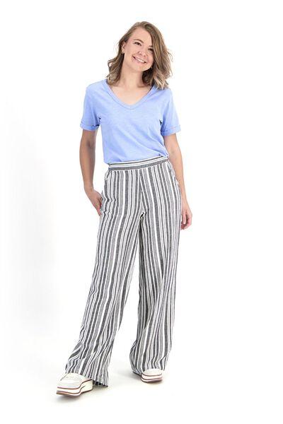 dames t-shirt lichtblauw lichtblauw - 1000019898 - HEMA