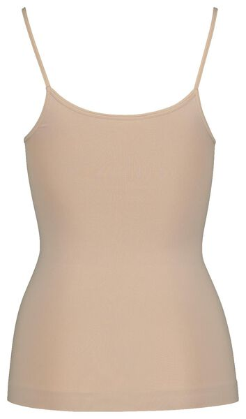 dameshemd light control beige XL - 21500674 - HEMA