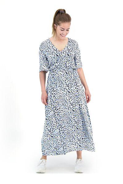 damesjurk donkerblauw M - 36271272 - HEMA