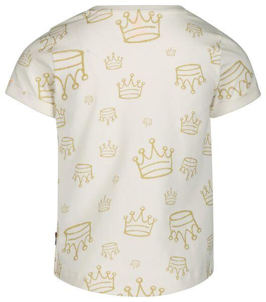 kinder t-shirt wit wit - 1000018936 - HEMA