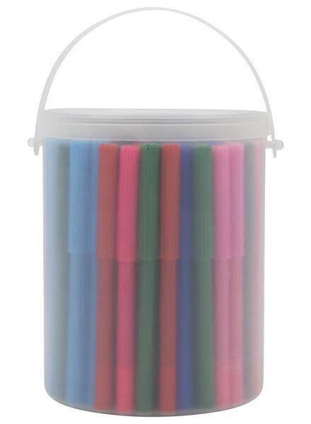 viltstiften - 100 stuks - 15905024 - HEMA