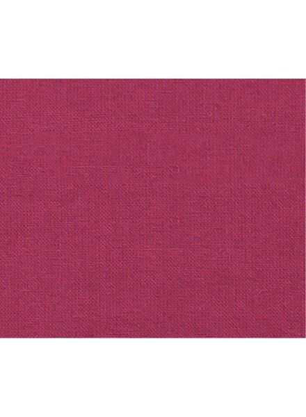 kussenhoes - 50 x 50 - bordeauxrood - 7350156 - HEMA