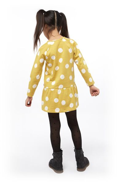 kinderjurk geel geel - 1000017882 - HEMA