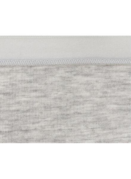 damesslip grijsmelange grijsmelange - 1000006530 - HEMA