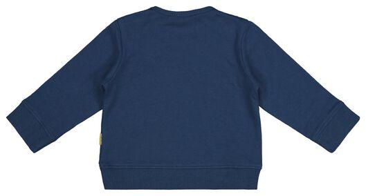 newborn sweater blauw blauw - 1000017654 - HEMA