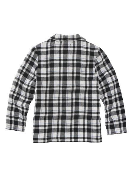 kinder pyjama zwart/wit - 1000002776 - HEMA