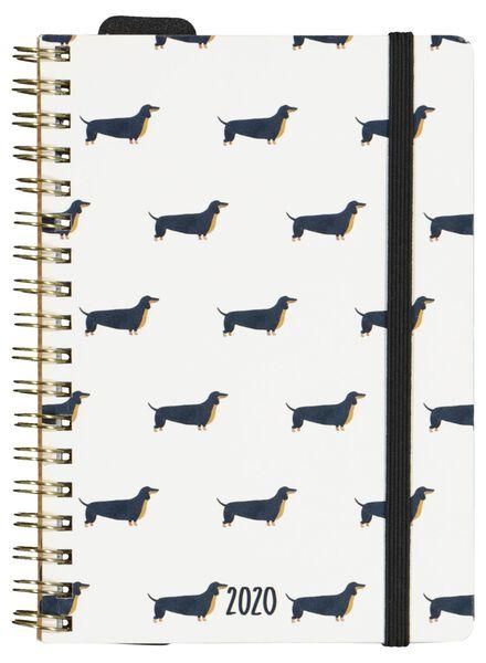 agenda 2020 - 15.5 x 11 cm - meertalig - 14600233 - HEMA