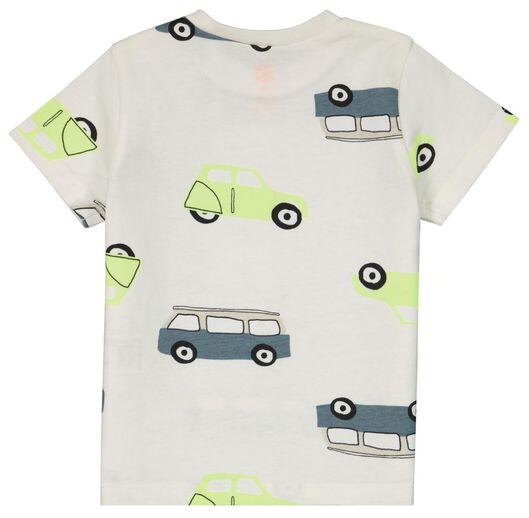 baby t-shirt bussen gebroken wit gebroken wit - 1000024079 - HEMA