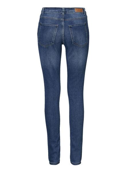 dames skinny jeans donkerblauw donkerblauw - 1000005273 - HEMA
