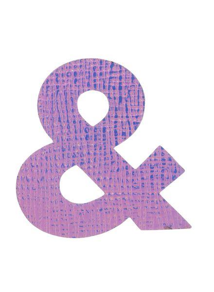 magneet teken '&' - 60700329 - HEMA