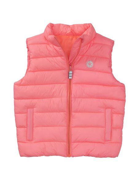 kinder bodywarmer roze roze - 1000009066 - HEMA