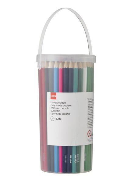100-pak kleurpotloden - 15919088 - HEMA