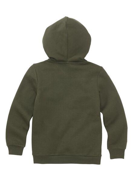 kinder sweatvest groen groen - 1000011254 - HEMA