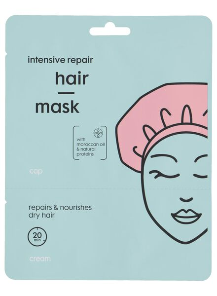 haarmasker met cap - 11057133 - HEMA