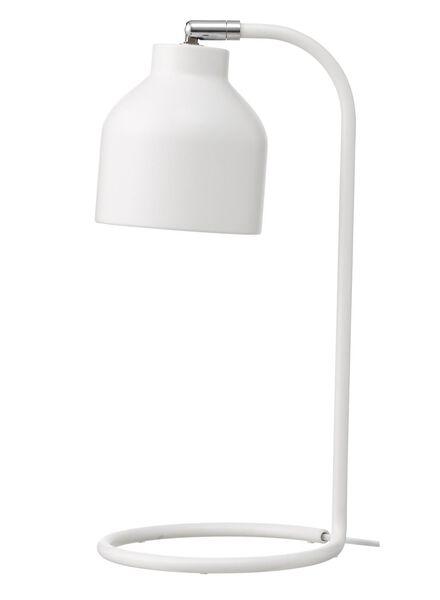 bureaulamp - 13 x 42 cm - wit - 13100028 - HEMA