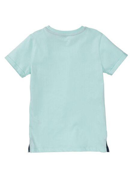 kinder t-shirt lichtblauw lichtblauw - 1000007863 - HEMA