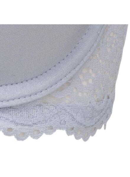 padded t-shirt bh micro lichtblauw lichtblauw - 1000011872 - HEMA