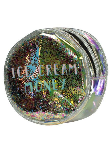 portemonnee glitters - Ø 10,5 cm - 60500503 - HEMA