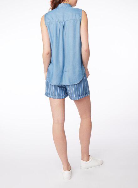 damesblouse lichtblauw lichtblauw - 1000013252 - HEMA