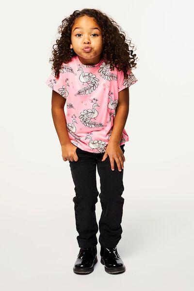 kinder t-shirt roze roze - 1000022386 - HEMA