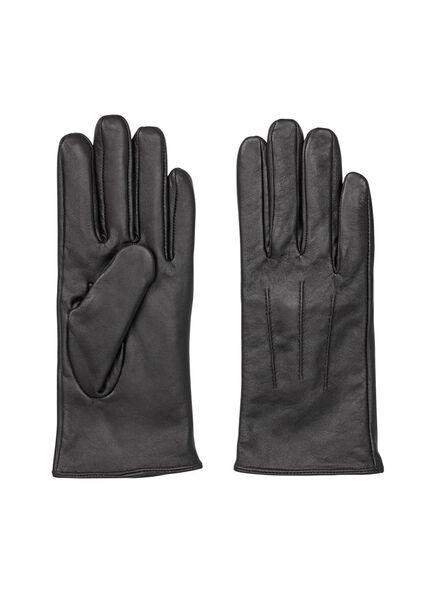 dameshandschoenen zwart zwart - 1000009303 - HEMA
