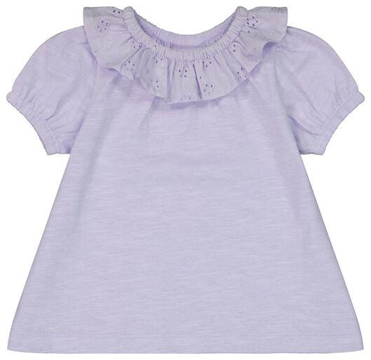 baby t-shirt roze roze - 1000023548 - HEMA
