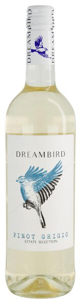 dreambird pinot grigio - 0,75 L - 17370119 - HEMA