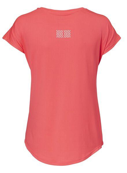 dames sportshirt koraal koraal - 1000012372 - HEMA