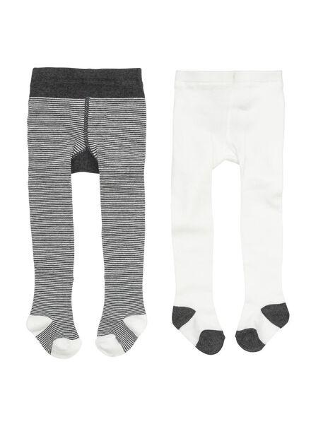 2-pak baby maillots grijsmelange grijsmelange - 1000002151 - HEMA