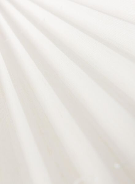 plisségordijn structuur transparant 20 mm - 7430043 - HEMA