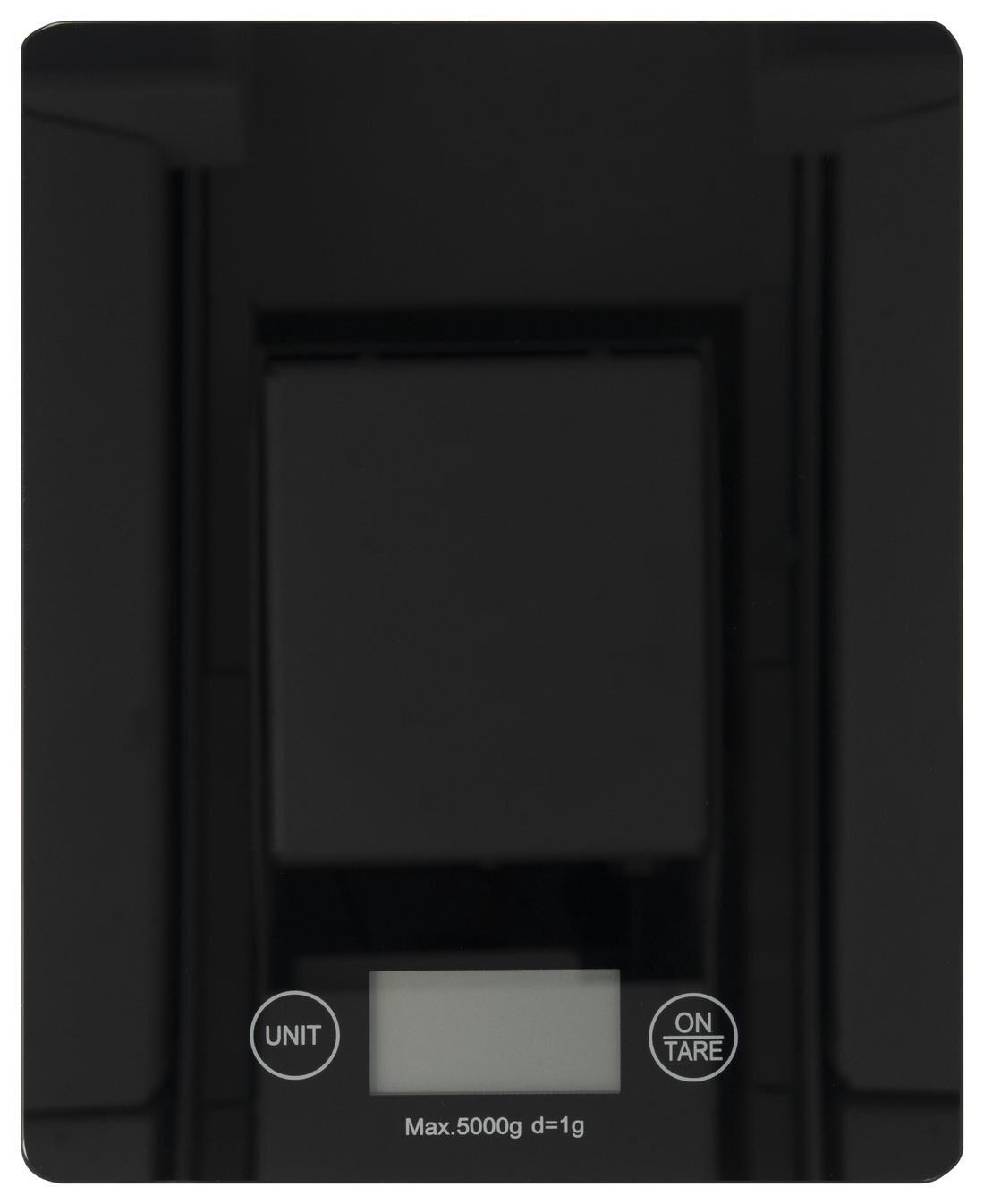 HEMA Digitale Keukenweegschaal (zwart)