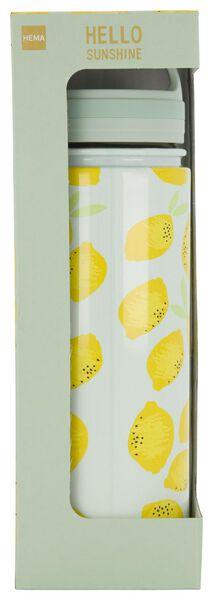 isoleerfles 500ml rvs citroen - 61140137 - HEMA