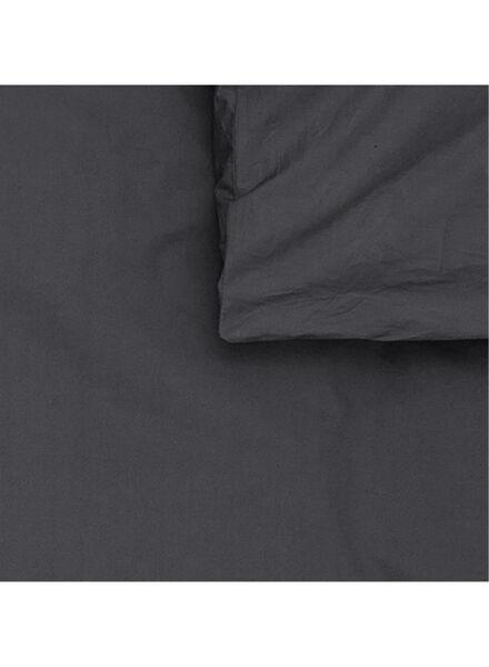 dekbedovertrek - hotel katoen percal donkergrijs donkergrijs - 1000014072 - HEMA