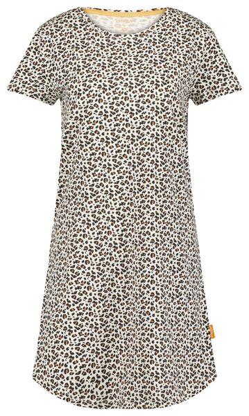 damesnachthemd animal beige beige - 1000023869 - HEMA