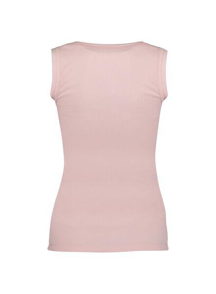 dames tanktop roze roze - 1000013590 - HEMA