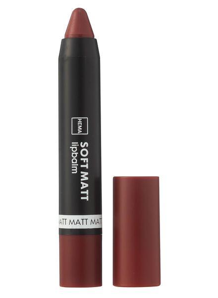 Soft matt lipbalm - 11235419 - HEMA