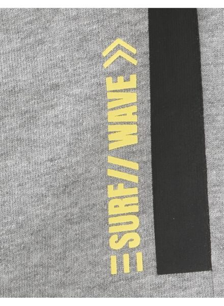 kinder sweatshort grijs grijs - 1000013326 - HEMA