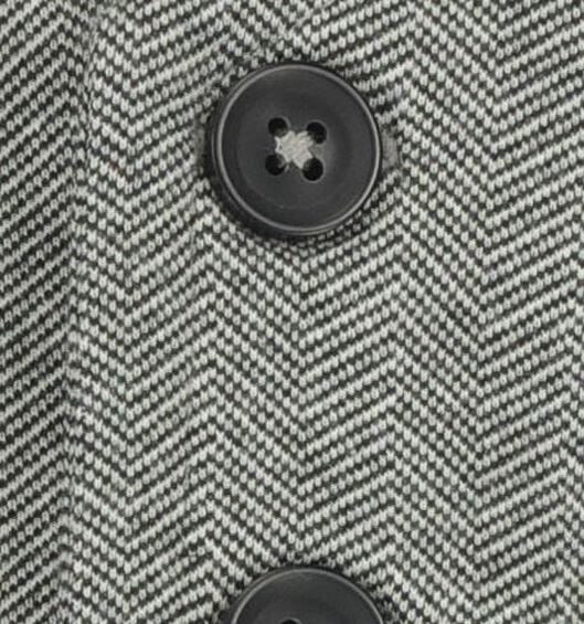 kinder gilet visgraat grijsmelange - 1000021898 - HEMA