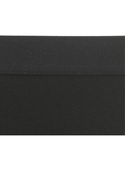 3-pak damesboxers zwart zwart - 1000002250 - HEMA