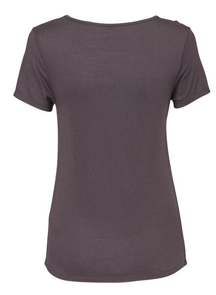 dames t-shirt zwart zwart - 1000008659 - HEMA
