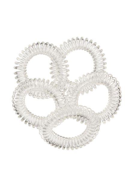 5-pak spiraal elastiekjes - 11870032 - HEMA