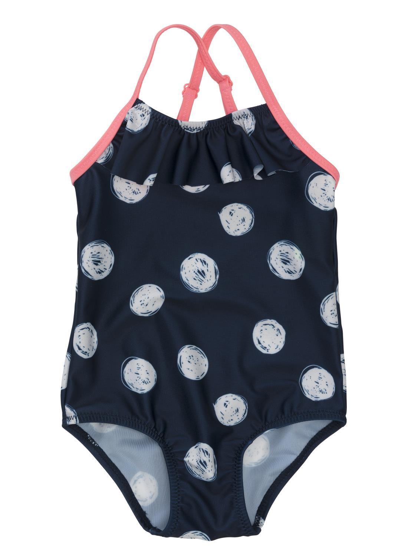 HEMA Baby Zwempak Donkerblauw (donkerblauw)