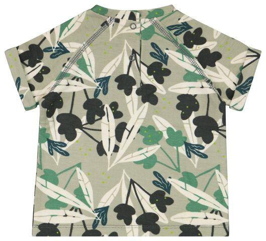 baby t-shirt groen groen - 1000023446 - HEMA
