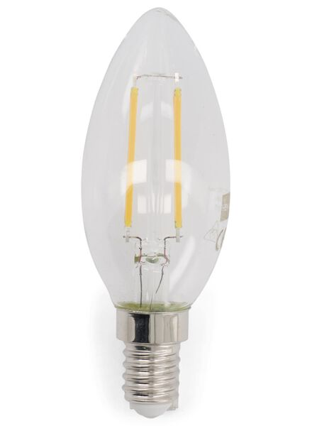 LED lamp 25W - 250 lm - kaars - helder - 20020017 - HEMA