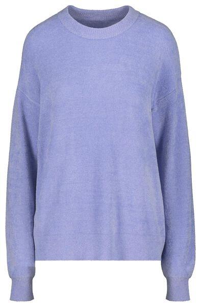damessweater lichtblauw lichtblauw - 1000018137 - HEMA