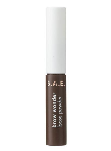 B.A.E. wenkbrauwpoeder 02 dark - 17700082 - HEMA