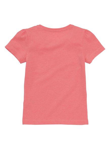 2-pak kinder t-shirts felroze felroze - 1000011197 - HEMA
