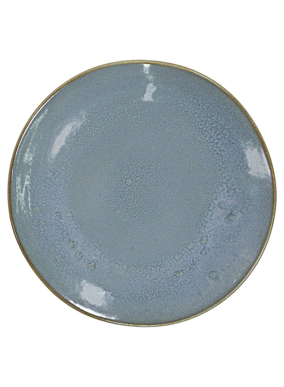 HEMA Ontbijtbord - 20 Cm - Porto - Reactief Glazuur - Blauw (blauw)