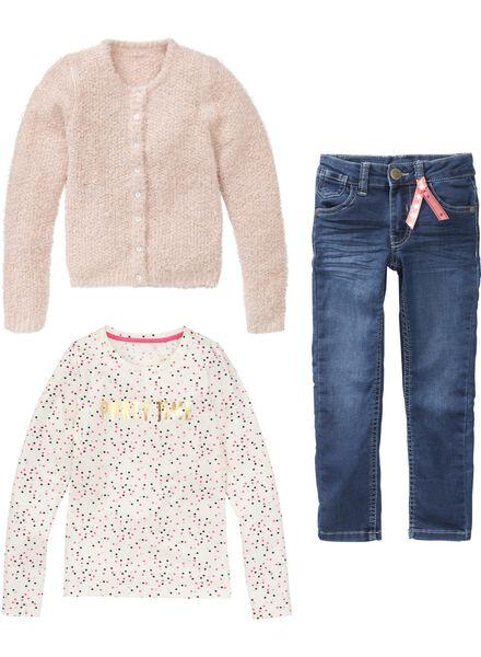 meisjes jeans denim denim - 1000005964 - HEMA