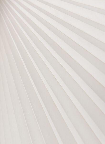 plissé dubbel lichtdoorlatend / witte achterzijde 25 mm - 7430001 - HEMA